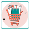 step-1: Create your online store in a minute.